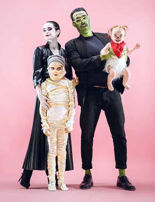 spökdräkter halloween frankenstein